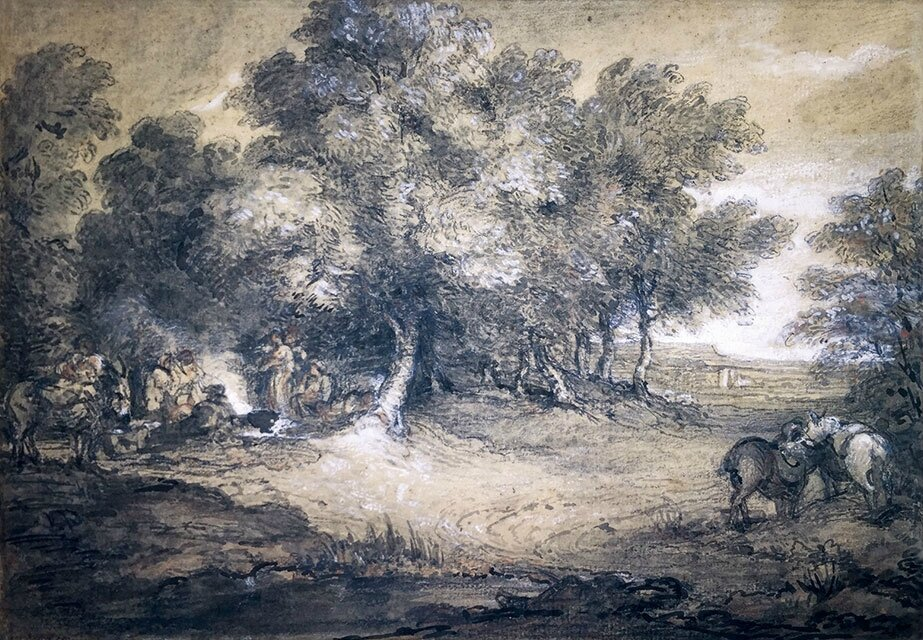 Gainsborough discovery to be auctioned at Bainbridges of Ruislip sale room on 2nd July