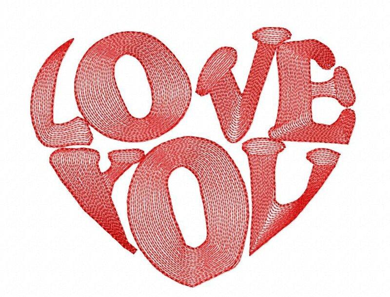 Ecrit love you