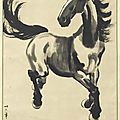 Year of the horse in chinese paintings
