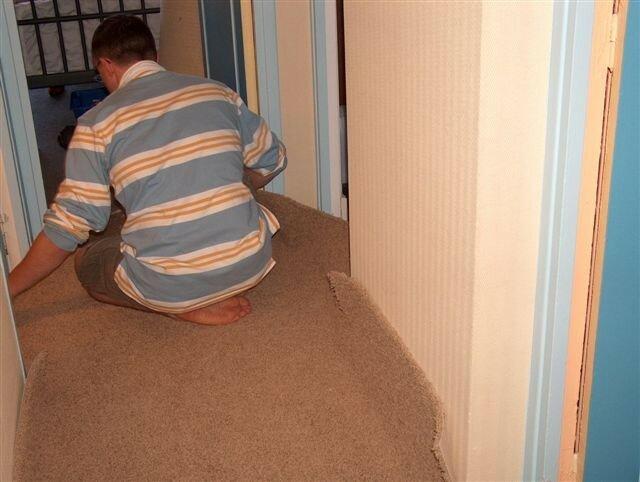 r fection du couloir etape 3 du c t de chez ma 39. Black Bedroom Furniture Sets. Home Design Ideas
