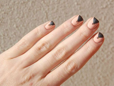 Nail art triangle 3