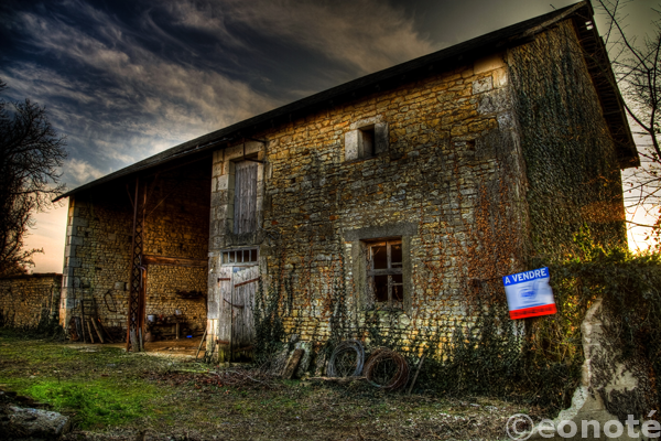 barn, eos 7d, hdr, sunset