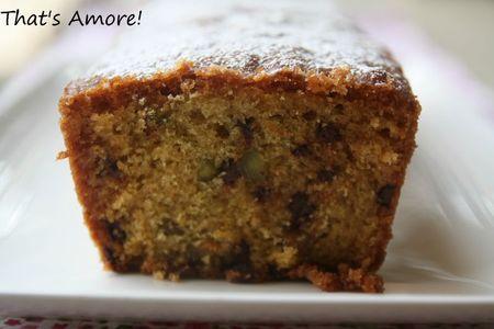 Cake au pamplemousse, huile d'olive et pistaches 2