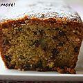 Cake au pamplemousse, huile d'olive et pistaches