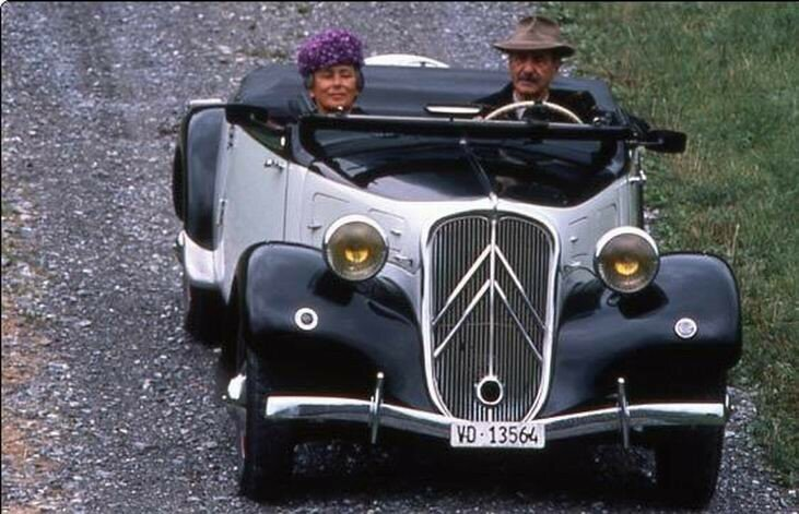 1939 - Citroën traction 11 cabriolet