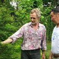 Miał czas na przyuczenie się do botaniki francuskiej z moim ojce