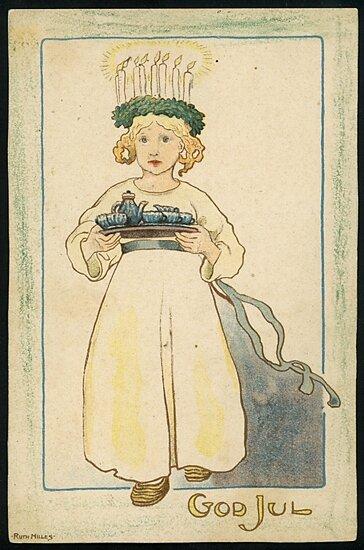 Signaturen Ruth Milles, Bilaga till Jultidningen Vintersol, 1908