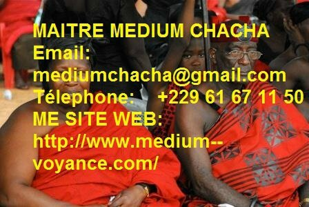 TEMOIGNAGES AFFECTION : MARABOUT AFRICAIN CHACHA