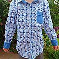 Une chemise comme papa !