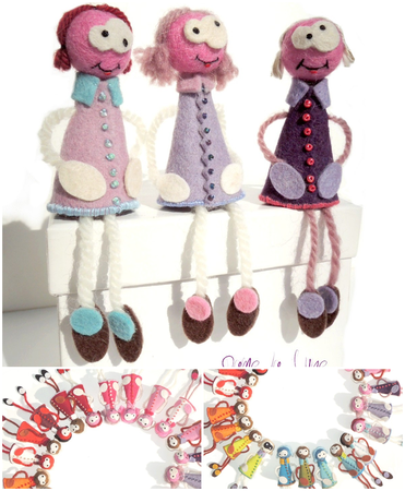 broche_fantaisie_ bijoux feutrine_bijoux laine_collection lilas-violet_damelalune_shop