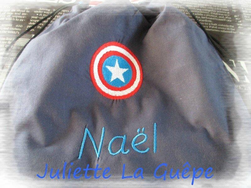 sac à dos Nael captain america 1
