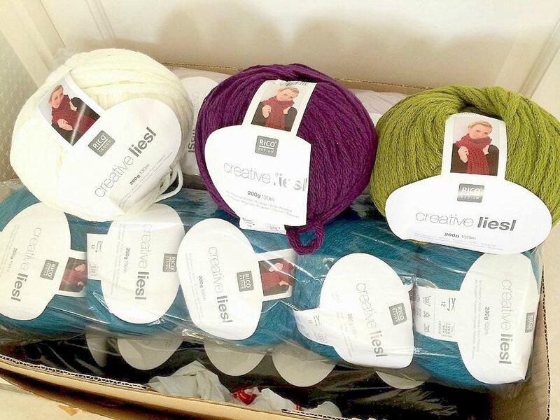 livraison laine rico liesl
