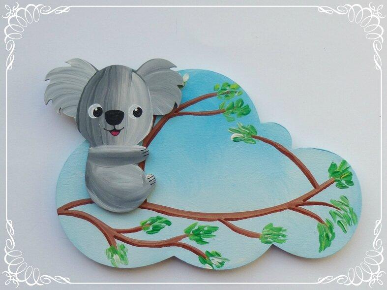 plaque koala 3