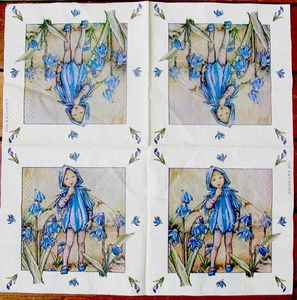flower fairies bleues