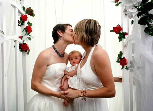 lesbians with baby