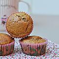 Muffins pain d'épices aux pépites de chocolat
