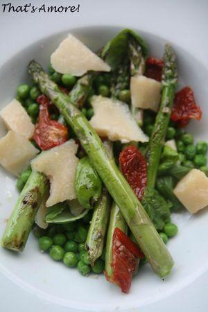 Insalata di piselli e asparagi 2