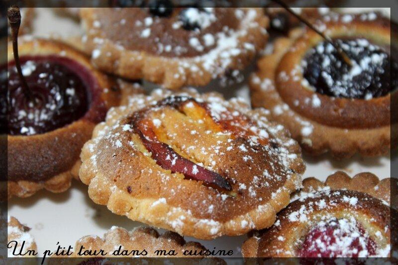 Mini tartelettes amandines3