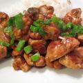 Poulet aux noix de cajou sans gluten