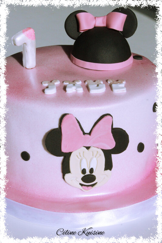 gateau minnie 1