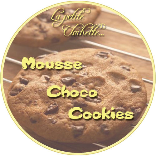 mousse choco cookies