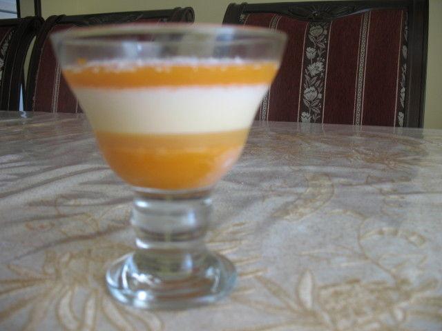 flan vanille au coulis d abricots 2