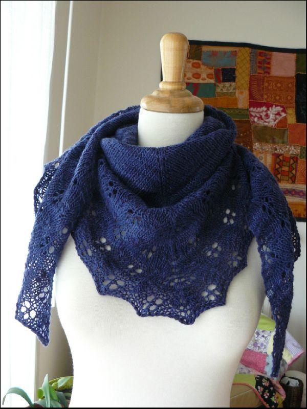 chale bleu violet5