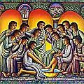 Jeudi saint : institution de l'eucharistie