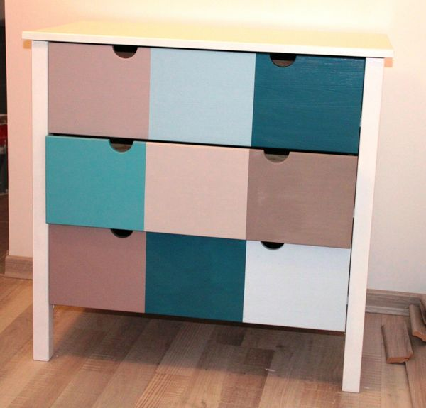 une simple commode ikea revisit e diy relooking mobilier. Black Bedroom Furniture Sets. Home Design Ideas