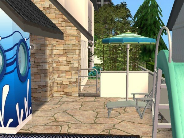 Villa los pescados maisons deco sims2 for Petit portillon