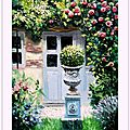 oil_color_painting_garden_and_french_house_peiture_a_l_huile_mai