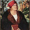 1502 CRANACH L'Ancien : Dr Johannès Cuspinian