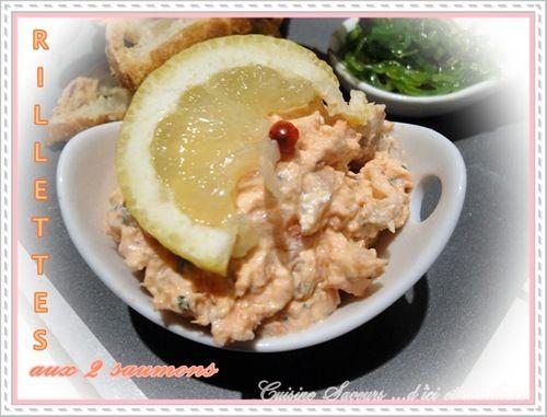 rillettes aux 2 saumons 1