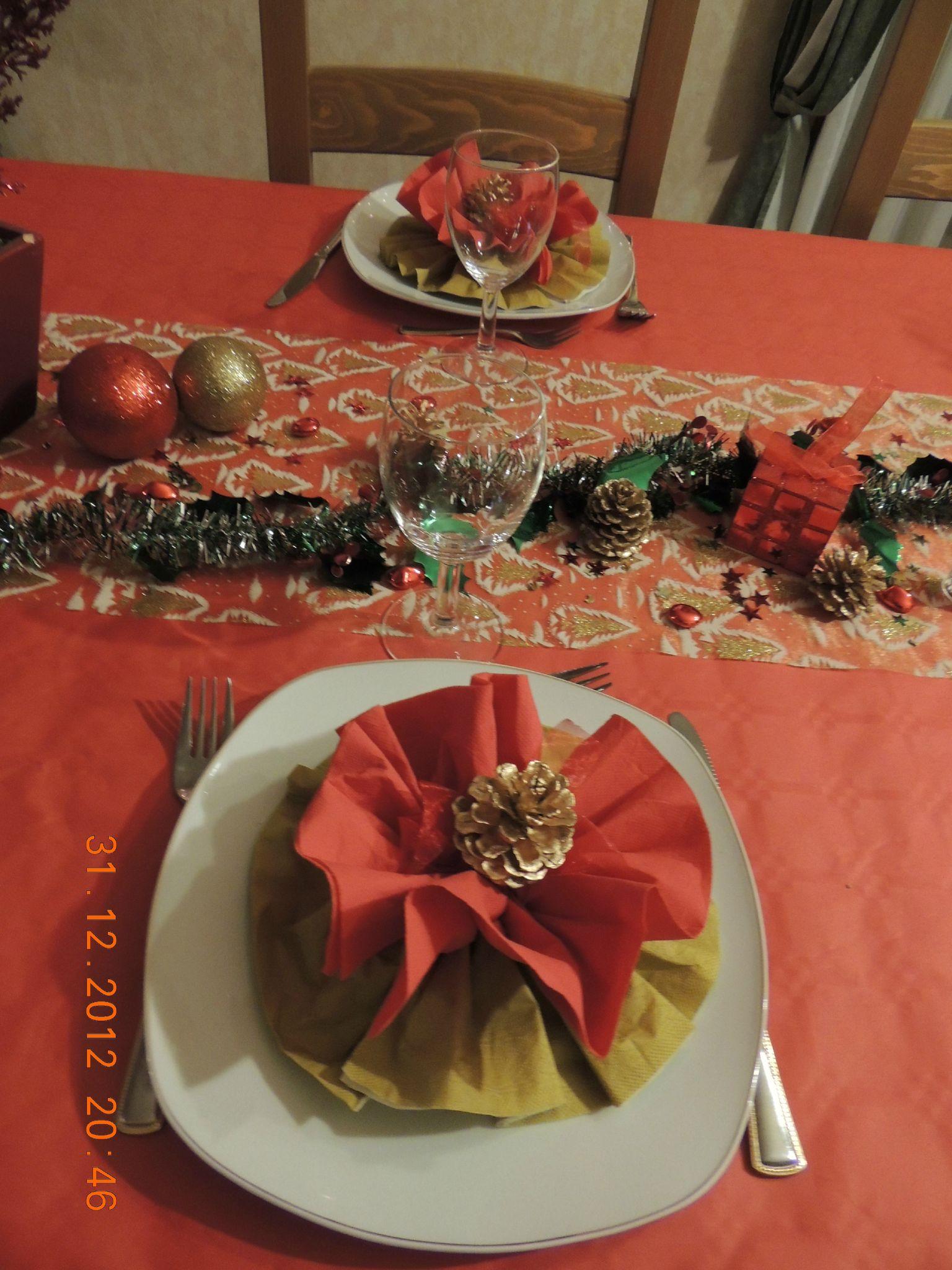 Table jour de l 39 an 2012 celineverodu77 for Table jour de l an