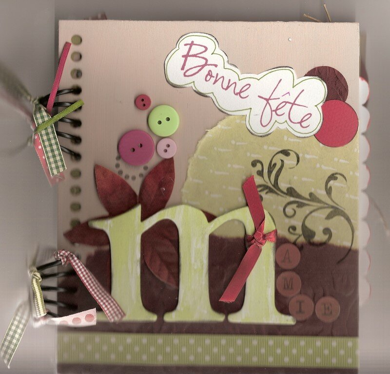 Couverture Mini Album Photo De Scrapbooking Mon Uni