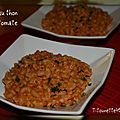 Pâtes à la tomate et au thon