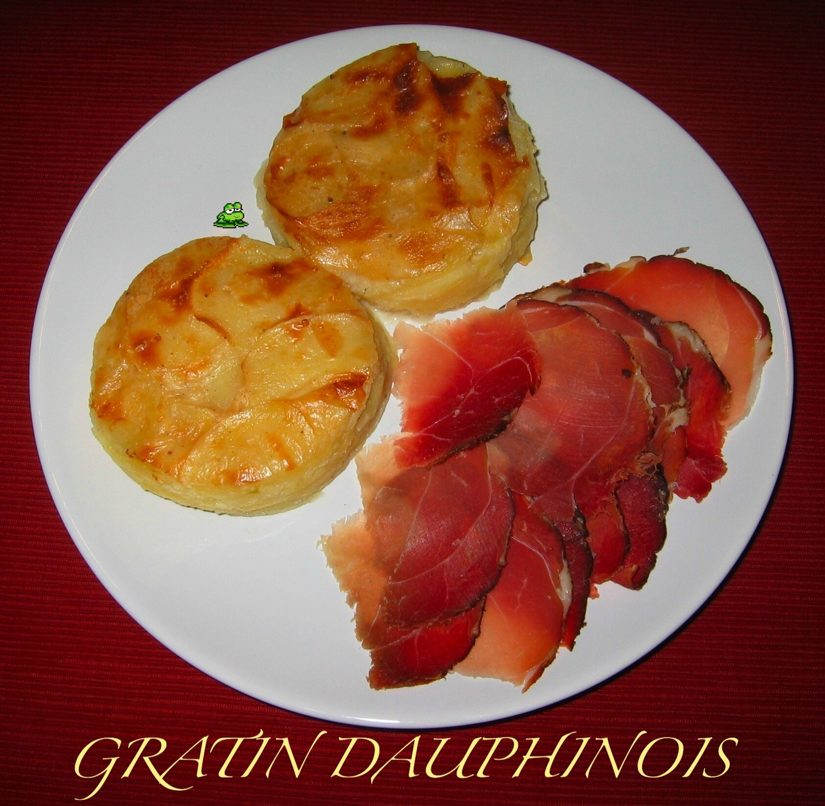 gratin dauphinois all g blogs de cuisine. Black Bedroom Furniture Sets. Home Design Ideas