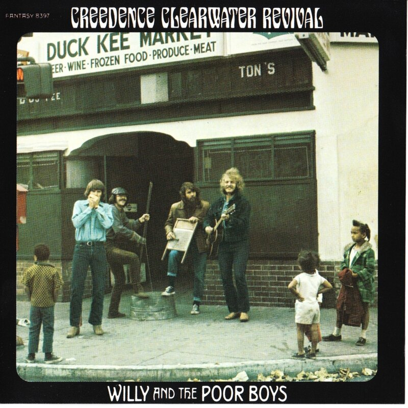 CCR Willy-And-The-Poor-Boys