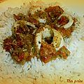 Anneaux d'encornets au pesto et tomates