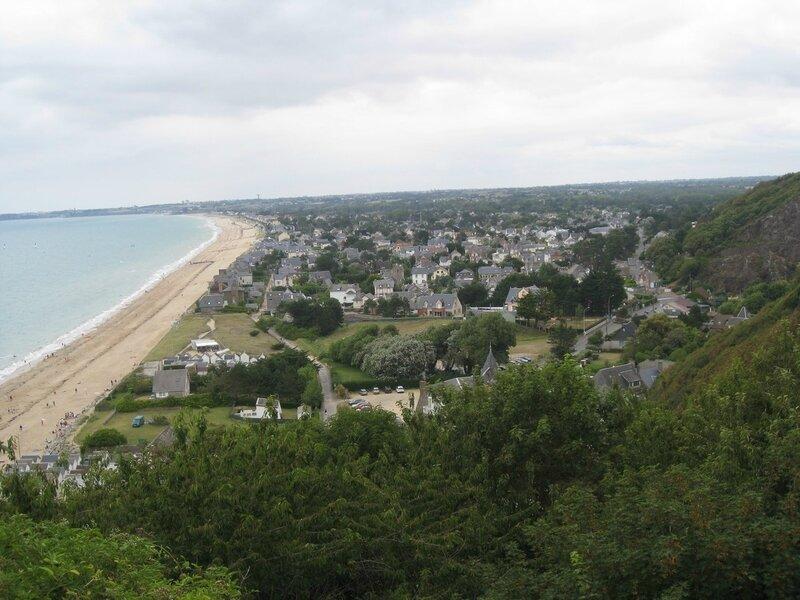 Avranches, vue sur les plages de Corolles et Jullouville (3)