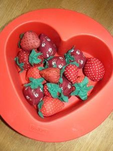 fraises pour Ghislaine