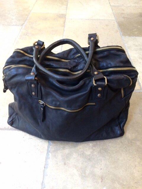 sac cuir noir boutique Avant Après 29 rue Foch 34000 Montpellier