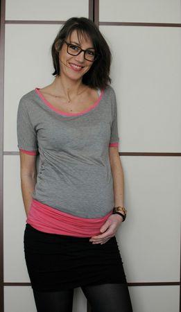 T-shirt et bandeau de grossesse (13)