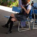 Fujiyoshida eki girl