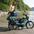 Au bord du Danube sur une petite crique