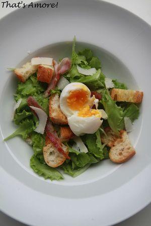 Chiffonade de salades croquantes