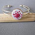 bracelet tache rose 12€