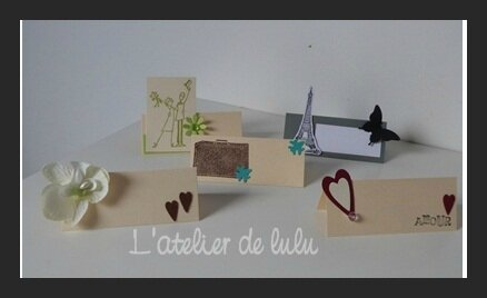 4 marque place carterie enveloppe cadeau page 7 - Marque place original a faire soi meme ...