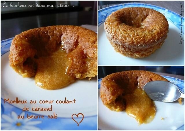 Moelleux coeur coulant caramel