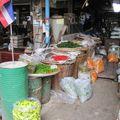 Bangkok - le marché aux légumes